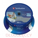 VERBATIM BD-R 25GB x6 cake 25 do nadruku
