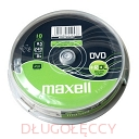 MAXELL DVD+R 8,5GB x8 DL cake box 10 szt.