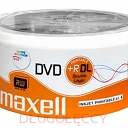 MAXELL DVD+R DL 8,5GB INKJET PRINTABLE WIDE