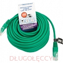 ESPERANZA KABEL UTP CAT 5E PATCHCORD 10M zielony