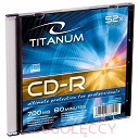 TITANUM CD-R 700MB SLIM CASE 1 SZT.
