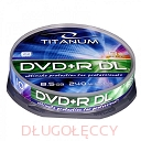 TITANUM DVD+R 8,5GB x8 DL 10 szt. cake box