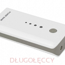 ESPERANZA EMP 104WE Power Bank ELECTRON 5200mAh biało-szary